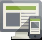 création de sites web sur mobile topdesign au val d'oise