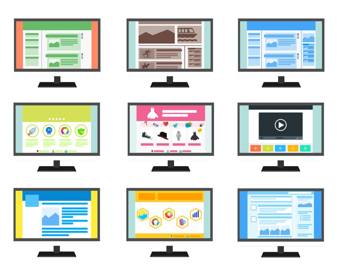 les types de sites web ,création site web cergy pontoise topdesign val d'oise 95