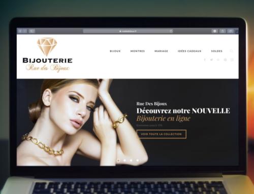 Site Web e-commerce RueDesBijoux